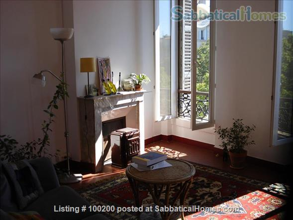 #100200, Large Sunny One Bedroom Apartment In Central Marseille ... Rental
