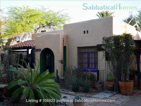 Sabbaticalhomes Home For Rent Tucson Arizona 85719 United States