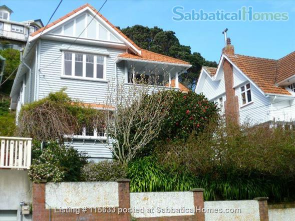 Wellington New Zealand Home Exchange