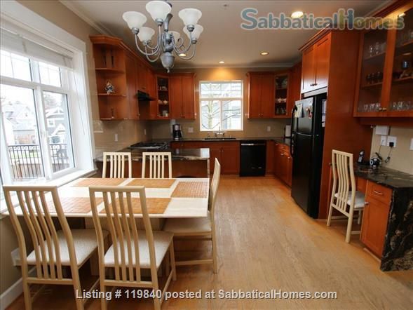 Sabbaticalhomes home for rent vancouver british columbia for 2 kitchen homes for rent