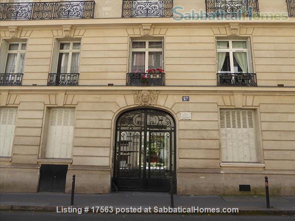 Sabbaticalhomes Home For Rent Paris 75006 France Studio For Rent In Paris