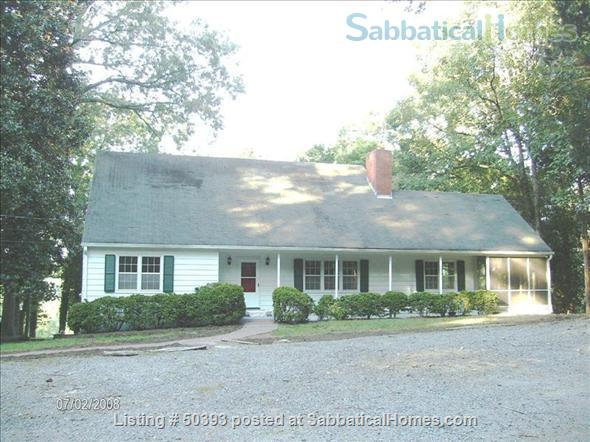 Sabbaticalhomes home for rent chapel hill north carolina for Chapel hill house