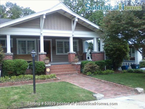 SabbaticalHomes - Home for Rent Durham North Carolina 27701 United States of America, 2 Bdrm Historic Home Durham