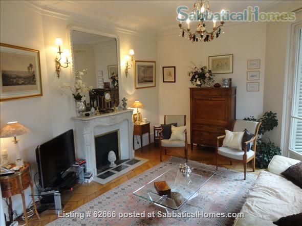 Sabbaticalhomes Home For Rent Paris 75017 France Paris 17th Plaine Monceau Spacious