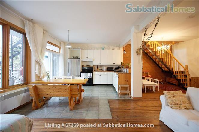 Sabbaticalhomes Home For Rent Montreal Quebec H2t 2v7 Canada Beautiful 4 Bedroom Mile End