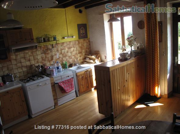 Sabbaticalhomes home for rent montenoison 58700 france for 2 kitchen homes for rent
