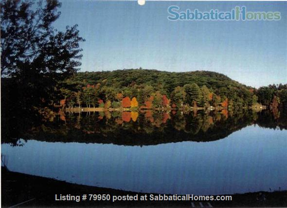 Sabbaticalhomes home for rent belchertown massachusetts for Lake cabins for rent in massachusetts